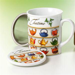 Tea Time Infuser Mug