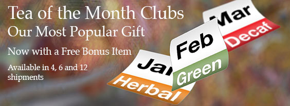 Tea of the Month Clubs
