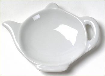Teapot Tea Bag Rest Porcelain The Tea Table